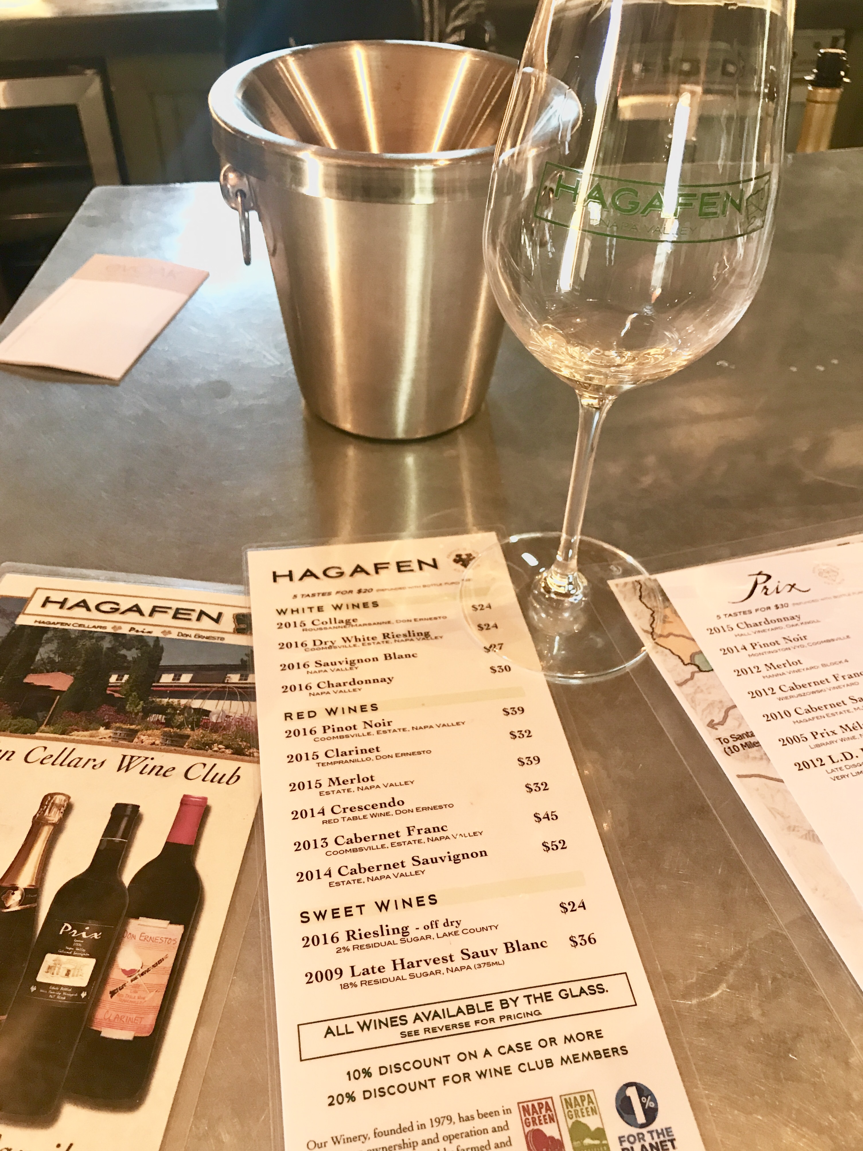Napa – Happens for a Riesling